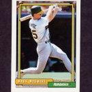 1992 Topps Baseball #450 Mark McGwire - Oakland A's