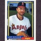 1992 Topps Baseball #375 Bert Blyleven - California Angels