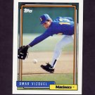 1992 Topps Baseball #101 Omar Vizquel - Seattle Mariners