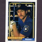 1992 Topps Baseball #090 Robin Yount - Milwaukee Brewers NM-M