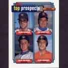 1992 Topps Baseball #058 Brad Ausmus RC / Jim Campanis / Dave Nilsson / Doug Robbins