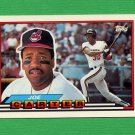 1989 Topps BIG Baseball #155 Joe Carter - Cleveland Indians