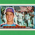1989 Topps BIG Baseball #093 Tino Martinez - Seattle Mariners