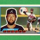 1989 Topps BIG Baseball #064 Bruce Sutter - Atlanta Braves