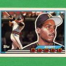 1989 Topps BIG Baseball #005 Barry Bonds - Pittsburgh Pirates