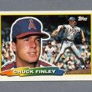 1988 Topps BIG Baseball #254 Chuck Finley - California Angels