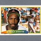 1988 Topps BIG Baseball #235 Chili Davis - California Angels