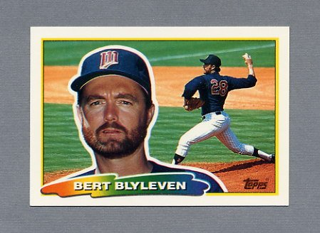 1988 Topps BIG Baseball #180 Bert Blyleven - Minnesota Twins