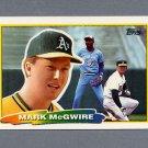 1988 Topps BIG Baseball #179 Mark McGwire - Oakland A's