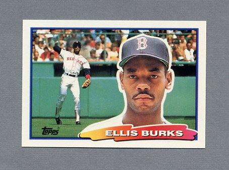 1988 Topps BIG Baseball #080 Ellis Burks - Boston Red Sox