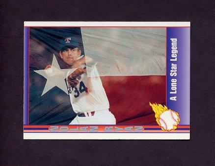 1991 Pacific Ryan Texas Express I Baseball #100 Nolan Ryan - Texas Rangers
