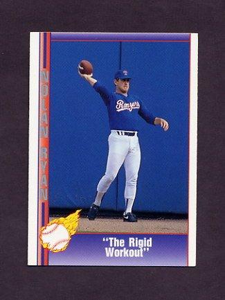 1991 Pacific Ryan Texas Express I Baseball #080 Nolan Ryan - Texas Rangers