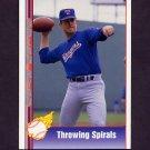1991 Pacific Ryan Texas Express I Baseball #077 Nolan Ryan - Texas Rangers