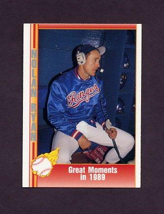 1991 Pacific Ryan Texas Express I Baseball #060 Nolan Ryan - Texas Rangers