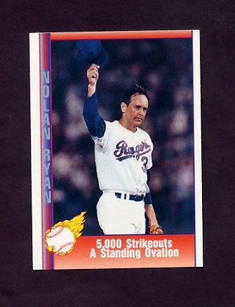 1991 Pacific Ryan Texas Express I Baseball #059 Nolan Ryan - Texas Rangers