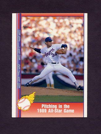 1991 Pacific Ryan Texas Express I Baseball #058 Nolan Ryan - Texas Rangers