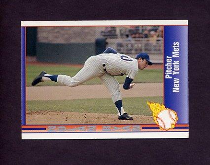1991 Pacific Ryan Texas Express I Baseball #018 Nolan Ryan - New York Mets