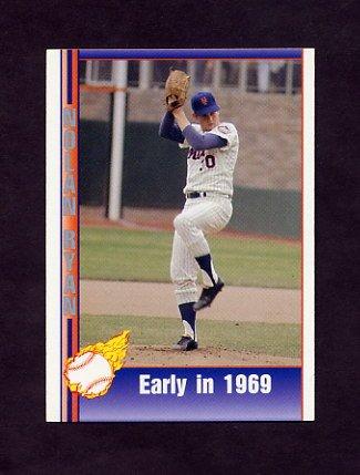 1991 Pacific Ryan Texas Express I Baseball #008 Nolan Ryan - New York Mets