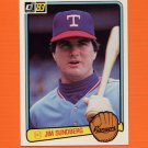 1983 Donruss Baseball #609 Jim Sundberg - Texas Rangers