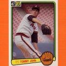 1983 Donruss Baseball #570 Tommy John - California Angels