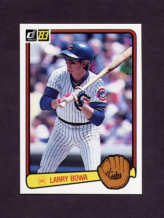 1983 Donruss Baseball #435 Larry Bowa - Chicago Cubs