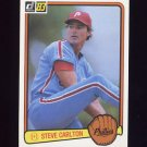 1983 Donruss Baseball #219 Steve Carlton - Philadelphia Phillies