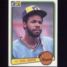 1983 Donruss Baseball #106 Cecil Cooper - Milwaukee Brewers