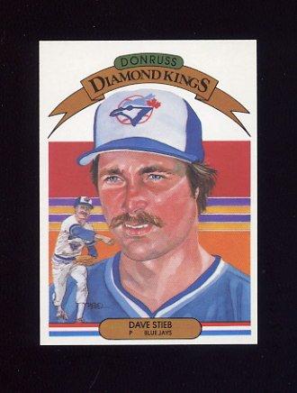 1983 Donruss Baseball #009 Dave Stieb DK - Toronto Blue Jays