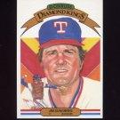 1983 Donruss Baseball #007 Jim Sundberg DK - Texas Rangers
