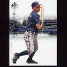 2008 SP Authentic Baseball #098 Jeff Francoeur - Atlanta Braves