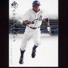 2008 SP Authentic Baseball #062 Curtis Granderson - Detroit Tigers