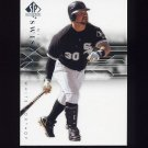 2008 SP Authentic Baseball #061 Nick Swisher - Chicago White Sox