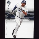 2008 SP Authentic Baseball #013 B.J. Upton - Tampa Bay Rays