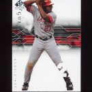 2008 SP Authentic Baseball #006 Vladimir Guerrero - Anaheim Angels