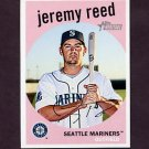 2008 Topps Heritage Baseball #699 Jeremy Reed SP - Seattle Mariners