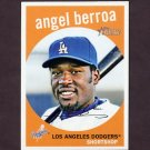 2008 Topps Heritage Baseball #655 Angel Berroa - Los Angeles Dodgers