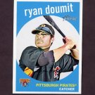 2008 Topps Heritage Baseball #531 Ryan Doumit - Pittsburgh Pirates