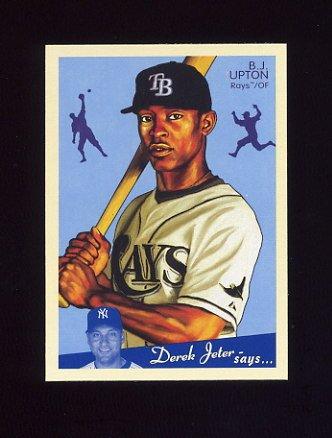 2008 Upper Deck Goudey Baseball #176 B.J. Upton - Tampa Bay Rays