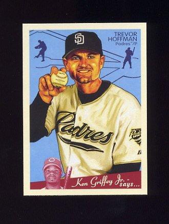 2008 Upper Deck Goudey Baseball #156 Trevor Hoffman - San Diego Padres