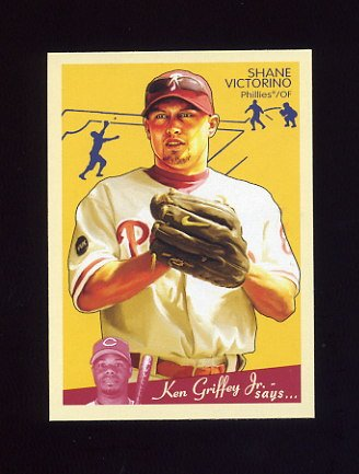 2008 Upper Deck Goudey Baseball #143 Shane Victorino - Philadelphia Phillies