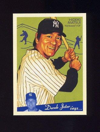 2008 Upper Deck Goudey Baseball #124 Hideki Matsui - New York Yankees