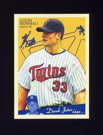 2008 Upper Deck Goudey Baseball #114 Justin Morneau - Minnesota Twins