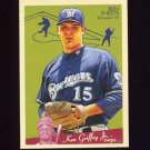 2008 Upper Deck Goudey Baseball #107 Ben Sheets - Milwaukee Brewers