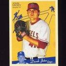 2008 Upper Deck Goudey Baseball #091 John Lackey - Los Angeles Angels