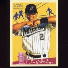 2008 Upper Deck Goudey Baseball #077 Hanley Ramirez - Florida Marlins