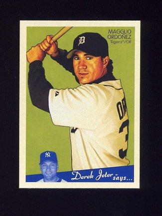 2008 Upper Deck Goudey Baseball #072 Magglio Ordonez - Detroit Tigers