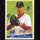 2008 Upper Deck Goudey Baseball #027 Clay Buchholz RC - Boston Red Sox