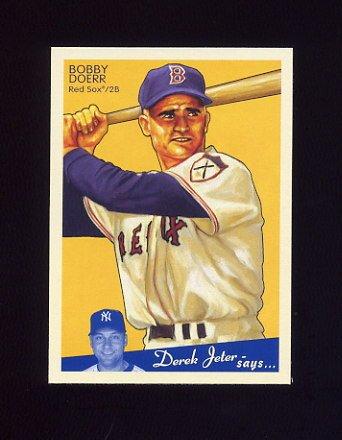 2008 Upper Deck Goudey Baseball #026 Bobby Doerr - Boston Red Sox