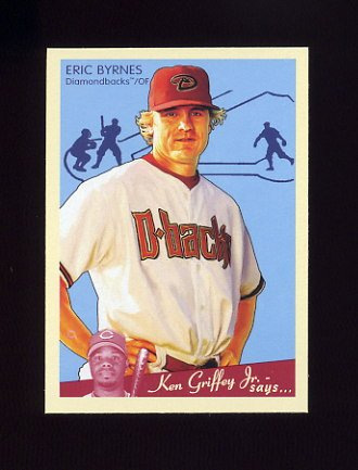 2008 Upper Deck Goudey Baseball #001 Eric Byrnes - Arizona Diamondbacks