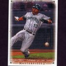 2008 UD Masterpieces Baseball #86 Carl Crawford - Tampa Bay Rays